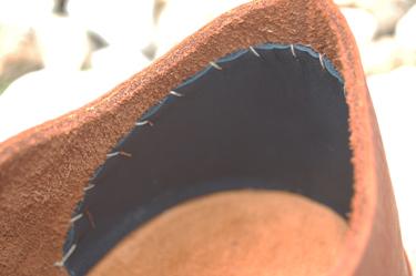 Blind Stitched Heel Stiffener